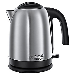 Russell Hobbs Hampshire Jug Kettle, 1.7L - Brushed Stainless Steel
