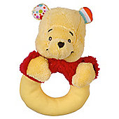 Winnie The Pooh Garden Ring Rattle
