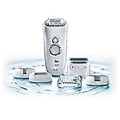 Braun Silk-épil 7 7569 Wet & Dry Cordless Epilator & Facial Exfoliation