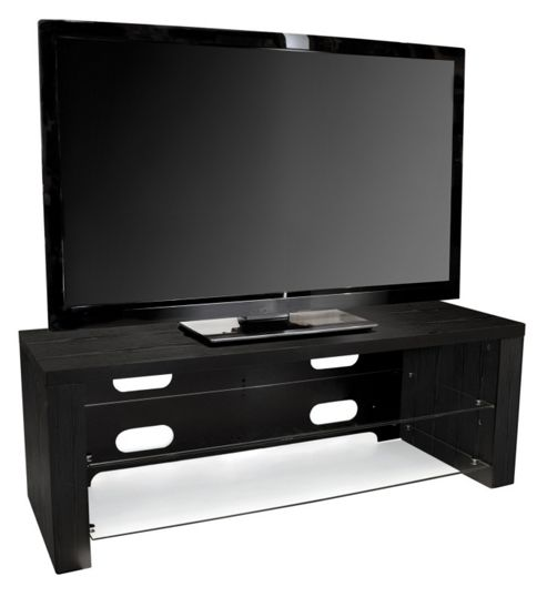 Peerless Madison 1100 Black TV Stand