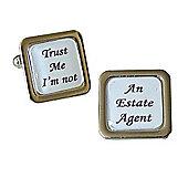 Trust Me I'm Not - An Estate Agent Cufflinks
