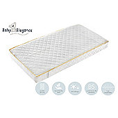 Baby Elegance Health Guard Pocket Spring Cot Bed Mattress 140x70cm