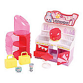 Shopkins Fashion Spree Makeup Spot Playset