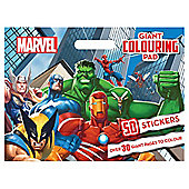 Marvel Giant Colouring Pad