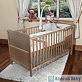 Isabella Cot Bed/Todler Bd & Foam Safety Mattress - Pine