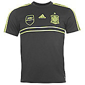 2014-15 Spain Adidas Away Replica Shirt - Black