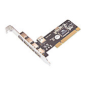 USB 2.0 5 Port (4+1) PCI Card
