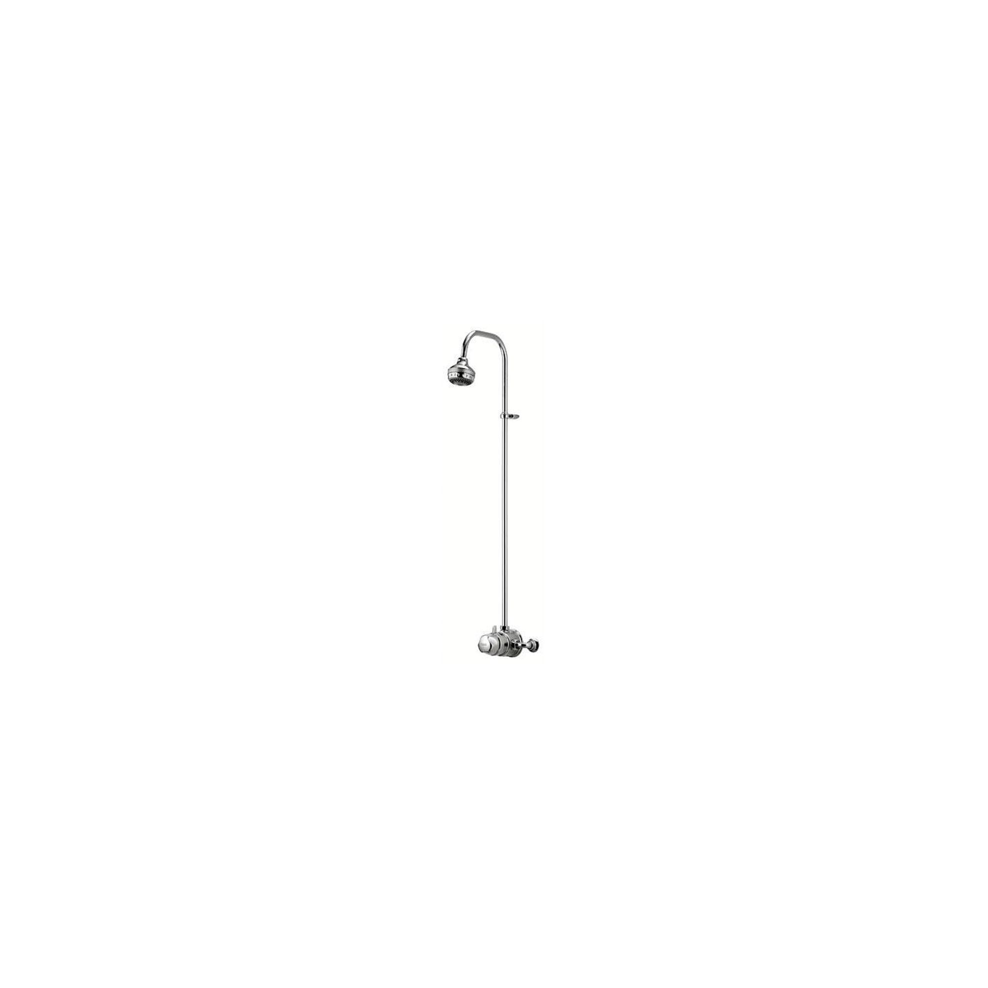 Aqualisa Aquavalve 700 Exposed Shower Valve with Exposed Shower Head Chrome at Tesco Direct