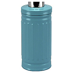 Tesco Retro Soap Dispenser, Blue