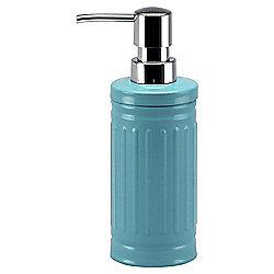Tesco Retro Soap Dispenser, Blue