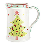 Christmas Tree Serving Jug