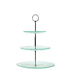 Cake Stand - 3 Tier - Glass
