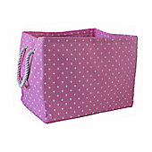 Wicker Valley Rectangular Soft Storage in Pink Star