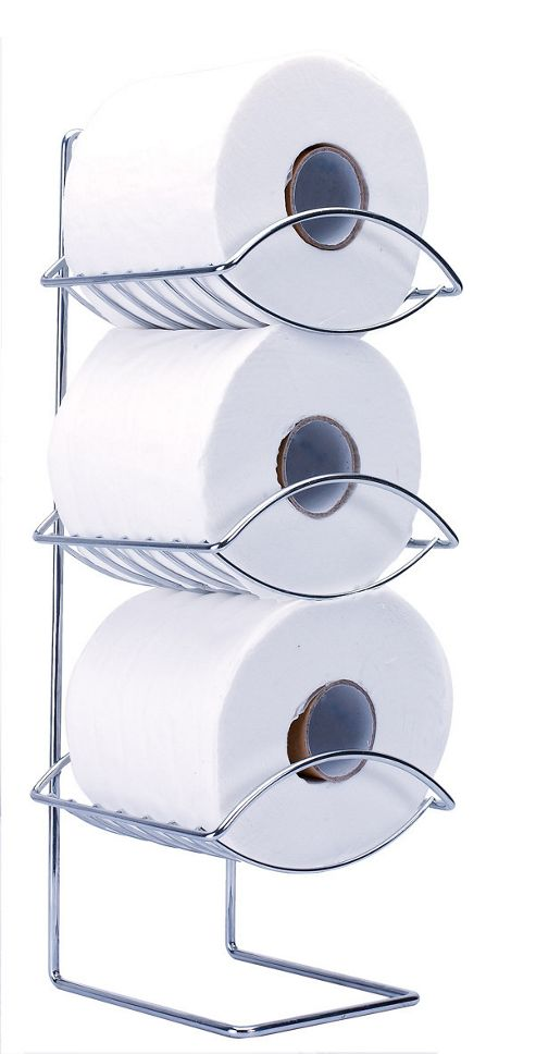 Sabichi Oceana 3 Tier Toilet Roll Holder