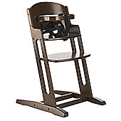 BabyDan DanChair Wooden Safety High Chair Walnut