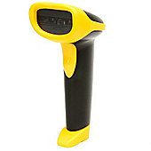 WASP Technologies WLR 8905 CCD LR Barcode Scanner with USB Cable