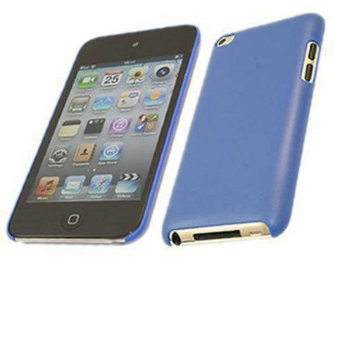 iTALKonline Clip On Back Shell Case Blue - For Apple iPod Touch 4G