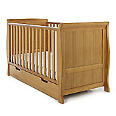 Obaby Lincoln Sleigh Cot Bed - Country Pine