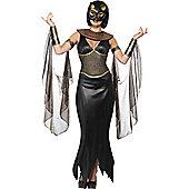 Bastet the Cat Goddess - Adult Costume Size: 16-18