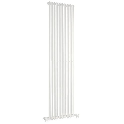 DQ Heating MKV16 White Vertical Radiator 2010mm High x 394mm Wide (14 Sections)