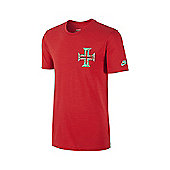 2014-15 Portugal Nike Covert Tee (Red) - Red