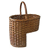 Wicker Valley Stair Basket