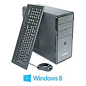 Zoostorm, Intel Pentium Dual Core G850 CPU, 500GB HDD, 4GB DDR3 Ram, DVDRW, mATX Tower case, 1Yr RTB Warranty, Windows 8 64bit.