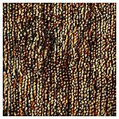 Multi Bean Rug 160 x 230, Brown