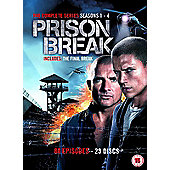 Prison Break 1-4 complete series DVD
