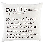 Family Dictionary Definition Cushion