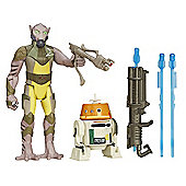 Star Wars 2 Figure Pack - Garazeb Orrelios & C1-10P