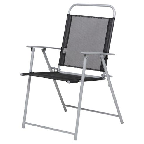 Hawaii Metal & Waterproof Woven Textile Folding Chair
