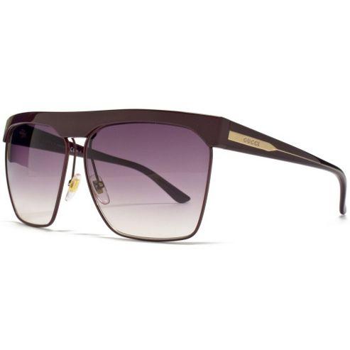 Gucci Sunglasses Visor in Purple with a Gradient Purple Lens