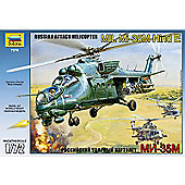 The Hobby Company Limited Zvezda MIL Mi-35M Hind E Russian Attack Helicopter