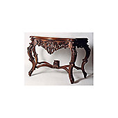 Anderson Bradshaw Victorian Grape Console Table in Mahogany
