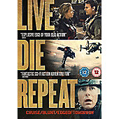 Edge Of Tomorrow DVD - Live Die Repeat
