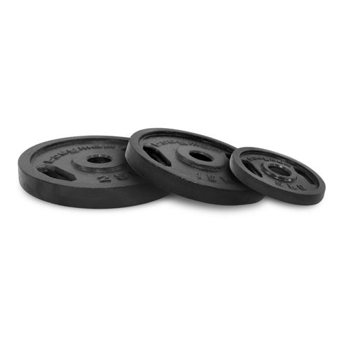 Bodymax Olympic Cast Iron Weight Plates - 2 x 10kg