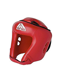 Top Pro Training Headgear - Red - Red
