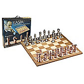 Kasparov Grandmaster Silver and Bronze Chess Set - Games/Puzzles
