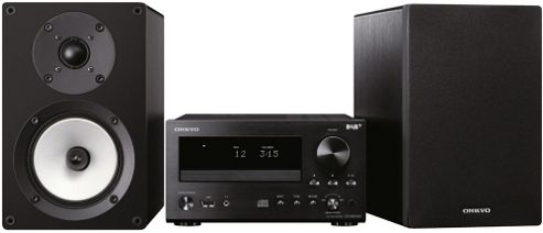 ONKYO CS555DAB CD/FM/MP3/DAB+ MINI SYSTEM (BLACK)