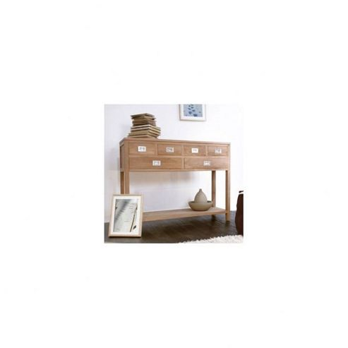 Tikamoon Coffee Tek Teak Console Table