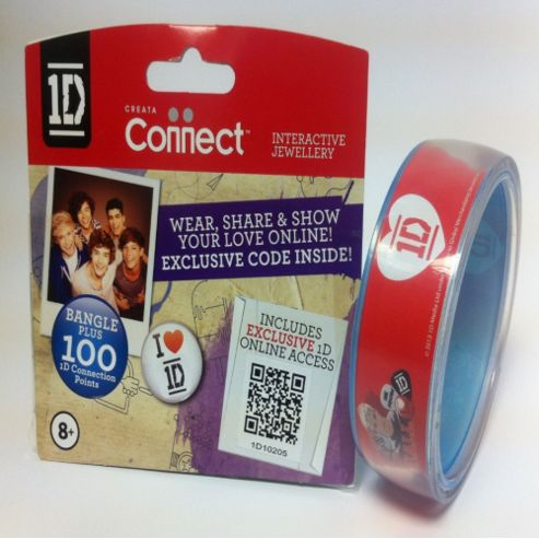 One Direction Official 1D Clear Bangle, Niall