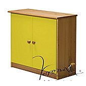 Verona Ribera Cupboard - Antique / Lime