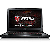 "MSI GS43 14"" Intel Core i7 Windows 10 16GB RAM 256GB SSD + 1000GB Gaming Laptops Black"