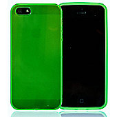 Apple iPhone 5 - gSHELL Tough All-Body Gel Case - Smoke Green