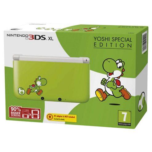 3DS XL Console Yoshi Edition