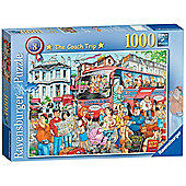 Ravensburger The Coach Trip 1000-Piece Jigsaw Puzzle