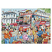 Ravensburger Coach Trip 1000pc puzzle
