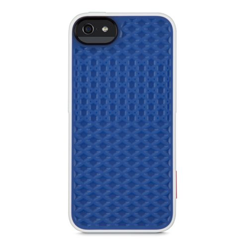 Vans Signature 3D Waffle Pattern Surround Case for iPhone 5 in Blue