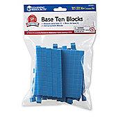 Learning Resources Base Ten Blocks Maths Set
